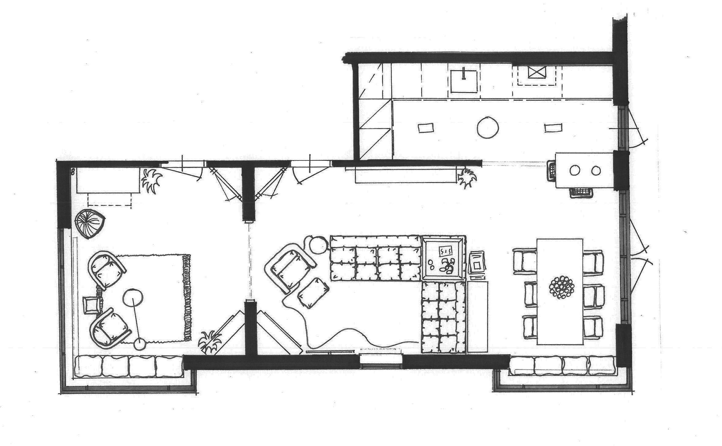 nieuw interieur en kleuren jaren 30 huis mies interieur