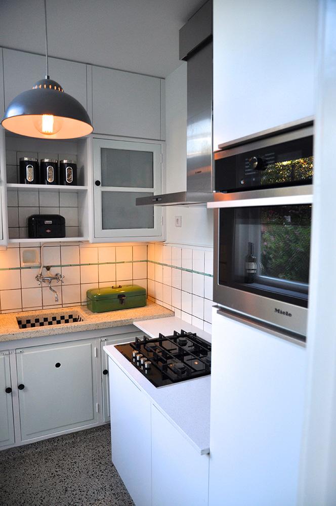 Ontwerp keuken jaren '30 Utrecht - Mies Interieur