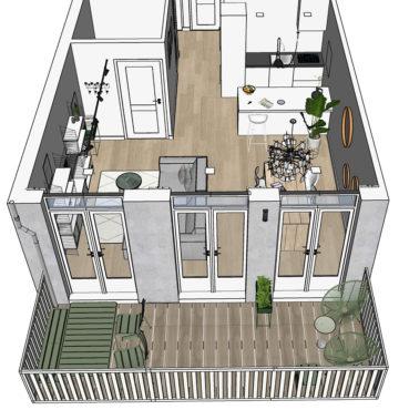 Appartement Amsterdamse Pijp ontwerp & realisatie